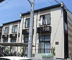 京都府京都市中京区西ノ京伯楽町の賃貸アパートの外観