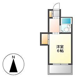 シェモア泉[5階]の間取り