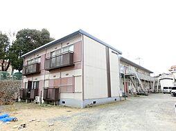 大阪府茨木市北春日丘1丁目の賃貸アパートの外観