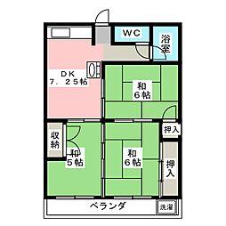 不老マンション[1階]の間取り