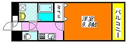 グランシス・高井田 704号室[7階]の間取り