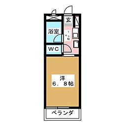NONAMIハウス[8階]の間取り