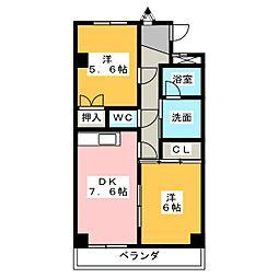 メゾンT・A[3階]の間取り