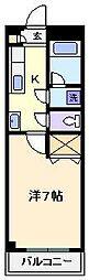 パレスホリケ8[2階]の間取り