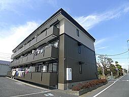 埼玉県吉川市道庭2丁目の賃貸アパートの外観