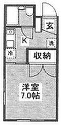 シンコー第二ビル[202号室]の間取り