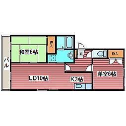 フルハウス[2階]の間取り