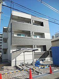 兵庫県尼崎市長洲西通2丁目の賃貸アパートの外観