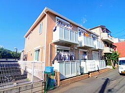 東京都西東京市緑町1丁目の賃貸アパートの外観