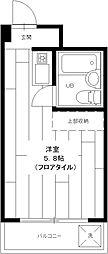 小金井ハイツ[405号室]の間取り