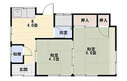 [一戸建] 神奈川県平塚市公所 の賃貸【/】の間取り