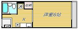 東京都江戸川区北小岩7丁目の賃貸アパートの間取り