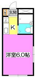 Aifort上石神井[2階]の間取り