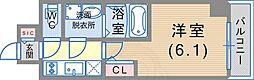 JR東海道・山陽本線 神戸駅 徒歩6分の賃貸マンション 2階1Kの間取り