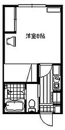 野馳駅 3.5万円
