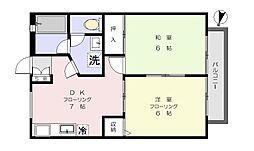 マンションTUKASA[106号室]の間取り