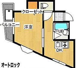 セントゥレ十条I[3階]の間取り