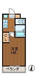 ル・シャトラン2[2階]の間取り