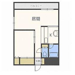 ラ・ポール27[3階]の間取り