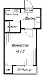 コンパートメントハウス千葉I[1階]の間取り