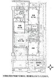 KAISEI武庫之荘ノステール[C103号室]の間取り