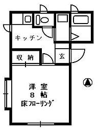 ハイツひばり[2階]の間取り