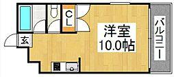 フォレスト・ウインド・イン姪浜[101号室号室]の間取り