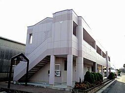 愛知県あま市新居屋榎坪の賃貸アパートの外観