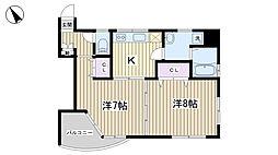 文京ツインタワー[201号室]の間取り