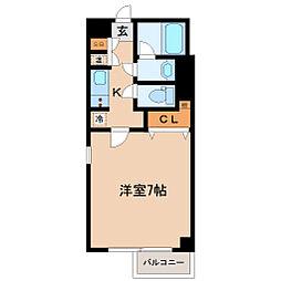 HF北四番丁レジデンス[11階]の間取り