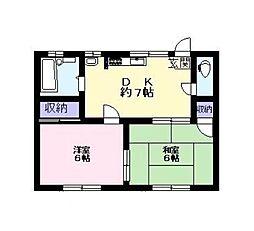 パークハイム[2階]の間取り