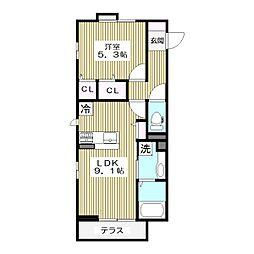 高島平1丁目68新築(未定)[1階]の間取り