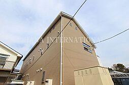 埼玉県草加市小山1の賃貸アパートの外観