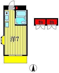 K's FLAT1[1階]の間取り