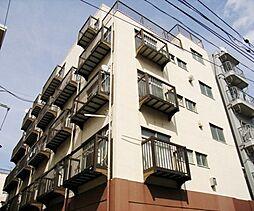 東京都新宿区高田馬場4丁目の賃貸マンションの外観