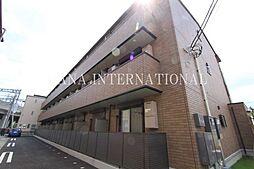 埼玉県八潮市大瀬2丁目の賃貸アパートの外観