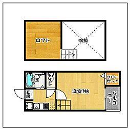 ネスト百道[1階]の間取り