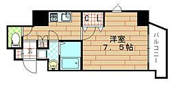 エクスクルーシブレジデンス西九条[6階]の間取り