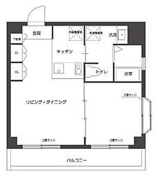 マ・メゾン3[3階]の間取り