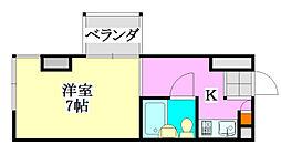 T.Oビル55[2階]の間取り