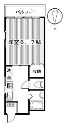 ハイツフレンド大島II[1階]の間取り