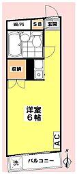 カーサラネージュ[4階]の間取り