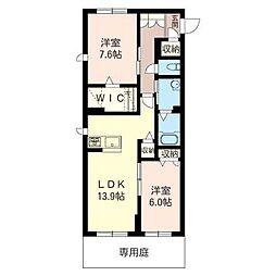 仮)五所マンション[106号室号室]の間取り