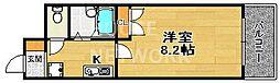 富士ラビット七条館[502号室号室]の間取り