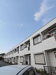埼玉県川越市仙波町1丁目の賃貸アパートの外観