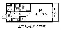 マイドリーム[304号室号室]の間取り