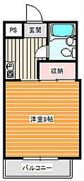 大島マンション[2階]の間取り