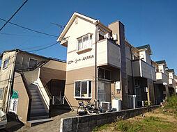 福岡県宗像市赤間4丁目の賃貸アパートの外観
