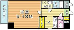 ベルガモット[3階]の間取り
