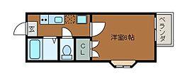 第1NKハイツ[2階]の間取り